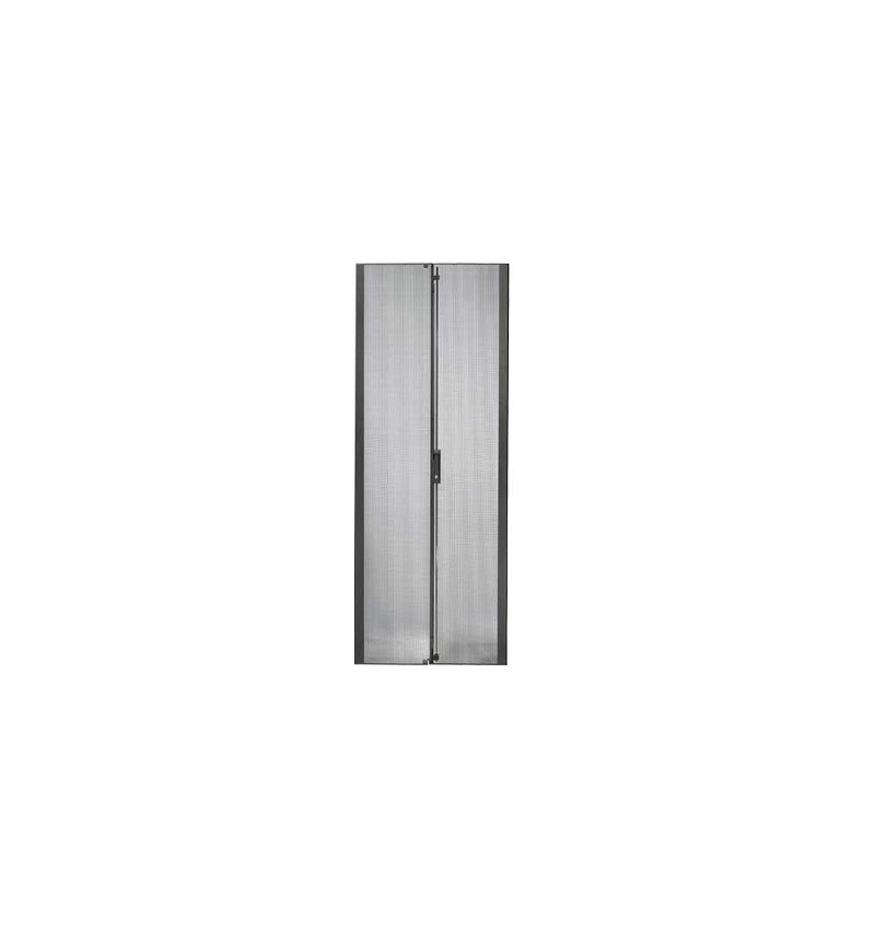 NetShelter SX 42U 750mm Wide Perforated Split Doors Black