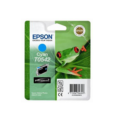 Tinteiro Original Epson Stylus Photo R800 Azul (C13T05424020)