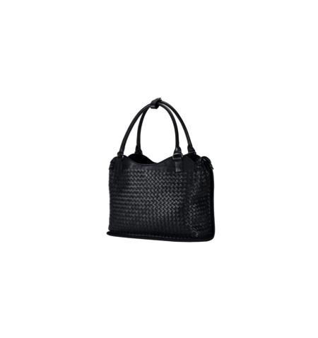 Mala Asus Leather Woven Preta em pele para Netbook até 12P - Levante já em loja