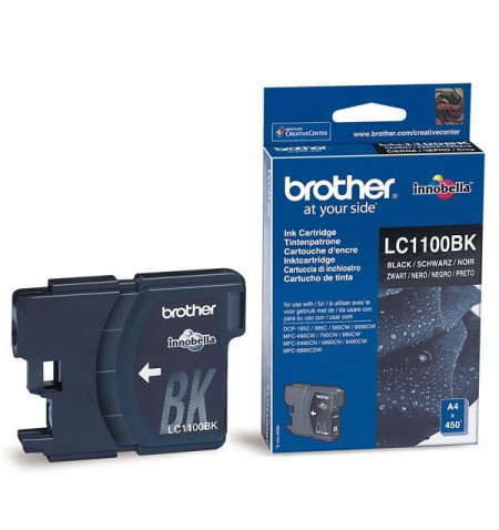 Tinteiro Original Brother Preto LC1100BK