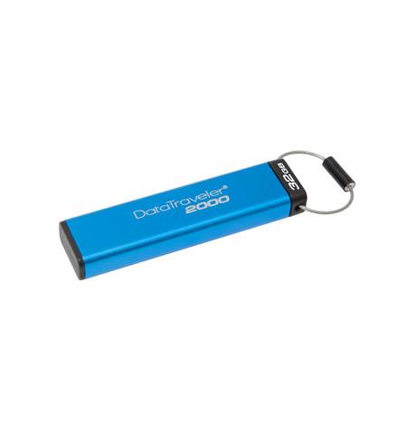 Pen Drive Kingston DT2000 32GB Keypad - DT2000/32GB