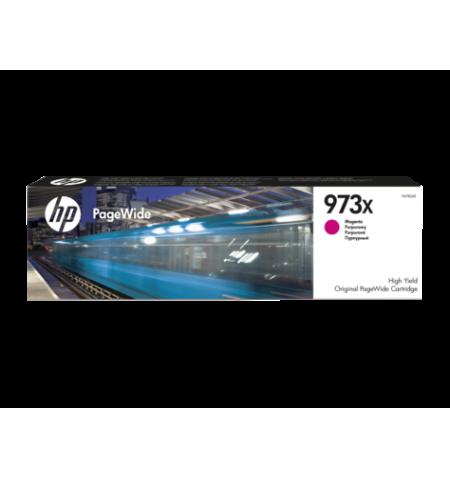 Toner Original HP 973X PageWide Magenta - F6T82AE