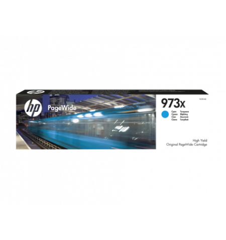 Toner Original HP 973X PageWide Ciano - F6T81AE