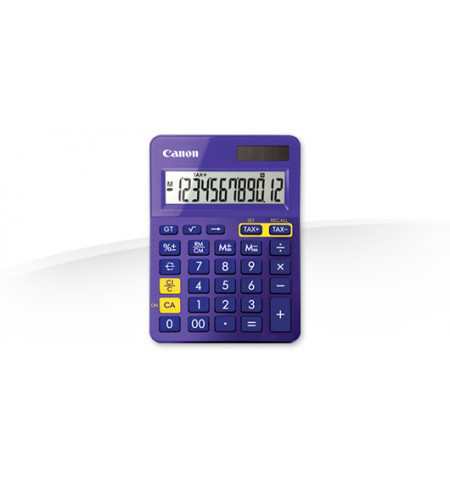 Calculadora Canon LS-123K Purple - 9490B014AA