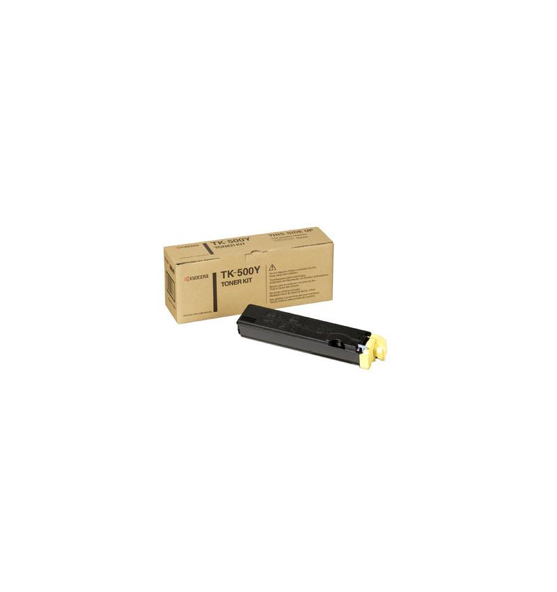 Kyocera TK 500Y - Amarelo - kit de toner - para FS-C5016, C5016DN, C5016DNH, C5016DTN, C5016N