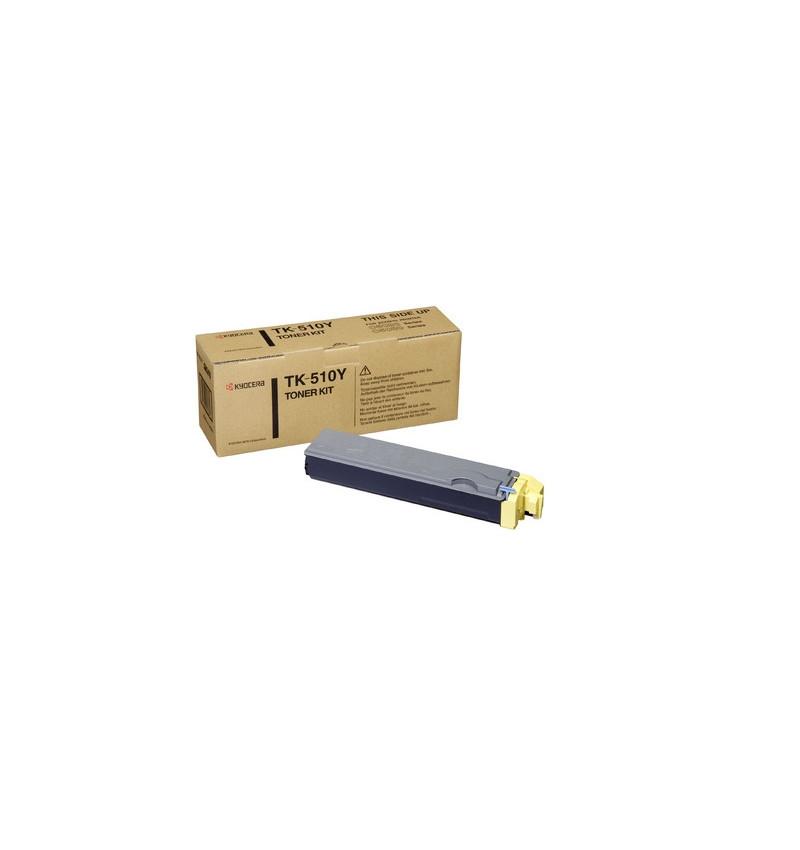Kyocera TK 510Y - Amarelo - kit de toner - para FS-C5020, C5025, C5030