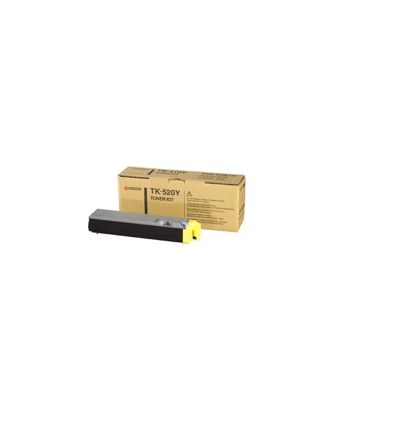 Kyocera TK 520Y - Amarelo - original - cartucho de toner - para FS-C5015N