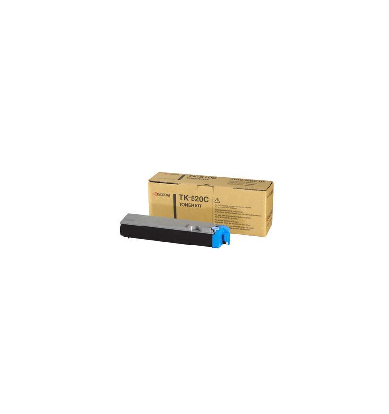 Kyocera TK 520C - Azul cyan - original - cartucho de toner - para FS-C5015N