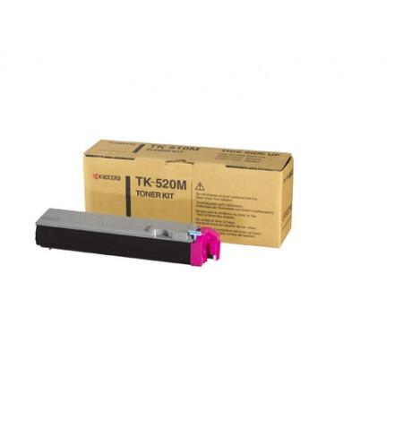 Toner Original Kyocera TK 520M Magenta - 1T02HJBEU0