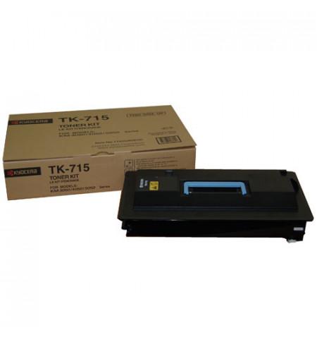 Toner Original Kyocera TK 715 Preto - 1T02GR0EU0