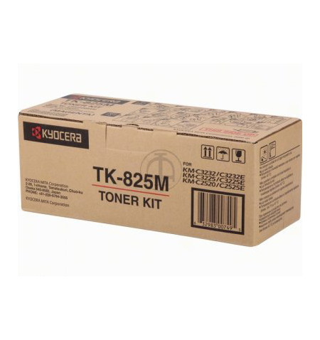 Toner Original Kyocera TK 825M Magenta - 1T02FZBEU0