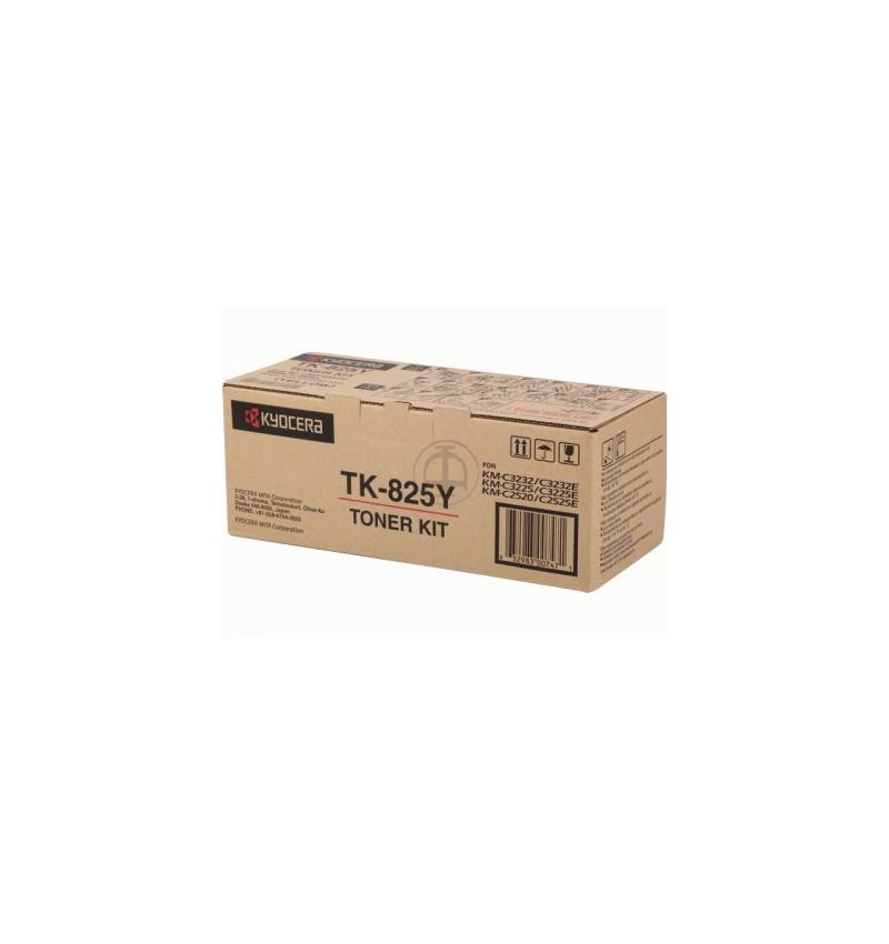 Kyocera TK 825Y - Amarelo - kit de toner - para KM C2520, C3225, C3232