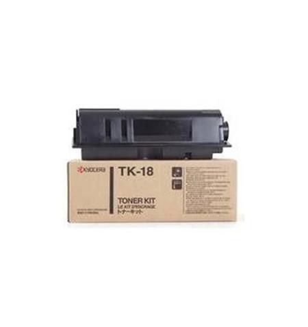 Toner Original Kyocera TK 18 Preto - 1T02FM0EU0