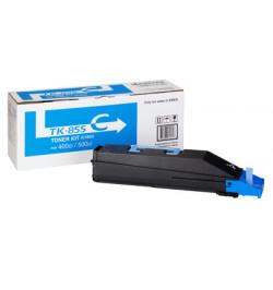 Kyocera TK 855C - Azul cyan - original - cartucho de toner - para TASKalfa 400ci, 500ci
