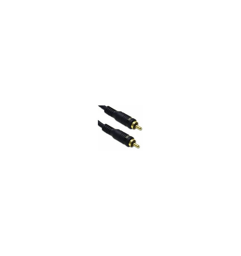 C2G Velocity - Cabo do subwoofer - RCA (M) - RCA (M) - 5 m - par trançado blindado duplo