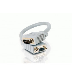 C2G Premium - Cabo de extensăo VGA - HD-15 (M) - HD-15 (F) - 15 m