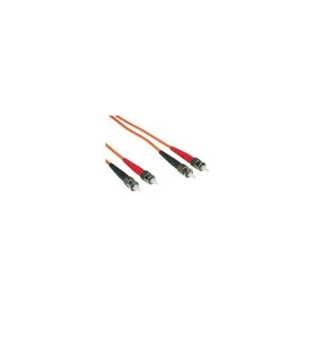 Cabo Rede C2G Fibra Optica ST multi-modos (M) para ST multi-modos (M) 7m Laranja
