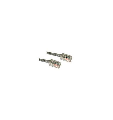 C2G Cat5e Non-Booted Unshielded (UTP) Network Patch Cable - Cabo patch - RJ-45 (M) - RJ-45 (M) - 15 m - PTNB - CAT 5e - trançado