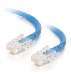 C2G Cat5e Non-Booted Unshielded (UTP) Network Patch Cable - Cabo patch - RJ-45 (M) - RJ-45 (M) - 20 m - PTNB - CAT 5e - trançado