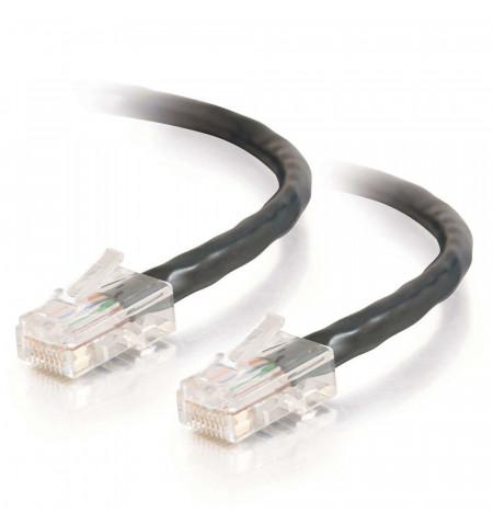 C2G Cat5e Non-Booted Unshielded (UTP) Network Patch Cable - Cabo patch - RJ-45 (M) - RJ-45 (M) - 5 m - PTNB - CAT 5e - trançado,