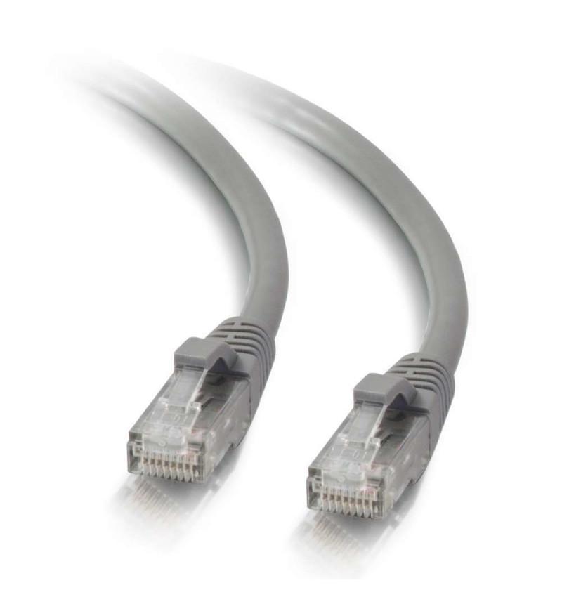 C2G Cat5e Booted Unshielded (UTP) Network Patch Cable - Cabo patch - RJ-45 (M) - RJ-45 (M) - 5 m - PTNB - CAT 5e - moldado, tran