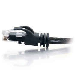 C2G Cat6 Booted Unshielded (UTP) Network Patch Cable - Cabo patch - RJ-45 (M) - RJ-45 (M) - 30 m - PTNB - CAT 6 - moldado, tranç