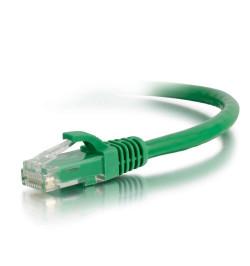C2G Cat6 Booted Unshielded (UTP) Network Patch Cable - Cabo patch - RJ-45 (M) - RJ-45 (M) - 1.5 m - PTNB - CAT 6 - moldado, tran