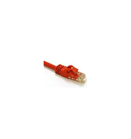 C2G Cat6 Booted Unshielded (UTP) Crossover Patch Cable - Cabo crossover - RJ-45 (M) - RJ-45 (M) - 1 m - PTNB - CAT 6 - moldado,