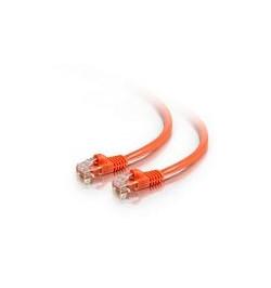 C2G Cat5e Booted Unshielded (UTP) Network Patch Cable - Cabo patch - RJ-45 (M) - RJ-45 (M) - 7 m - PTNB - CAT 5e - moldado, tran