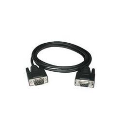 C2G Extension Cable - Cabo de extensăo serial - DB-9 (M) - DB-9 (F) - 7 m - moldado, parafusos (tipo que possui apoio para os de