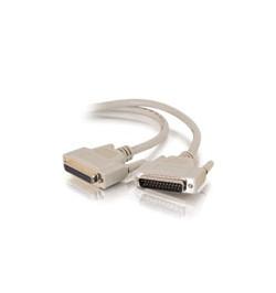 C2G - Cabo de extensăo paralela - DB-25 (M) - DB-25 (F) - 3 m ( IEEE-1284 ) - moldado