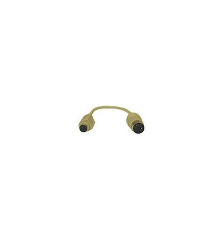 Adaptador Teclado C2G 5 PIN DIN (M) / PS/2 (F) 15cm