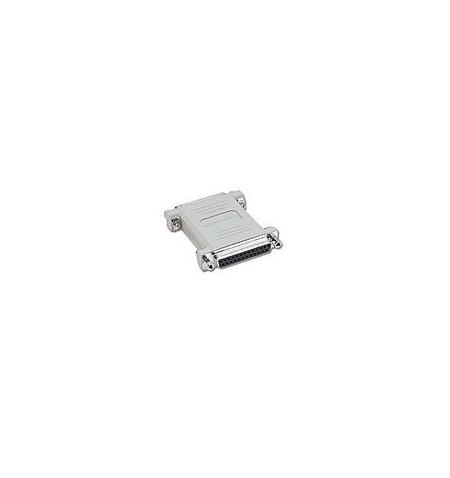 C2G - Comutador de género serial / paralelo - DB-25 (F) - DB-25 (F) - moldado