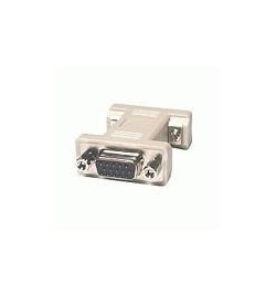 C2G - Comutador de género de VGA - HD-15 (F) - HD-15 (F) - moldado