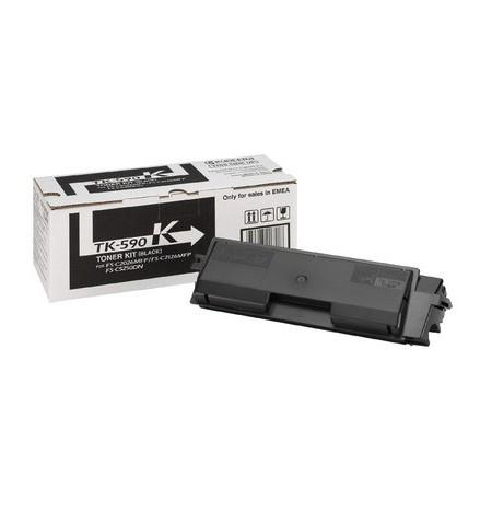 Toner Original Kyocera TK 590K Preto - 1T02KV0NL0