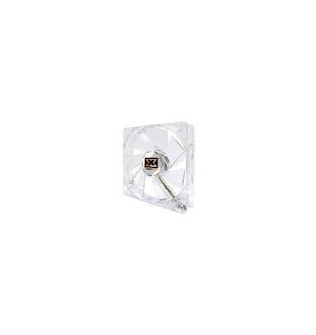 Fan 80 Xigmatek XLF-F8254 Crystal White LED - Levante já em loja