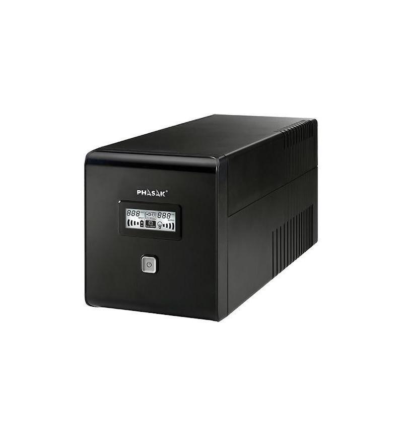 Phasak 1500 VA LCD USB + RJ–45 - PH 9415
