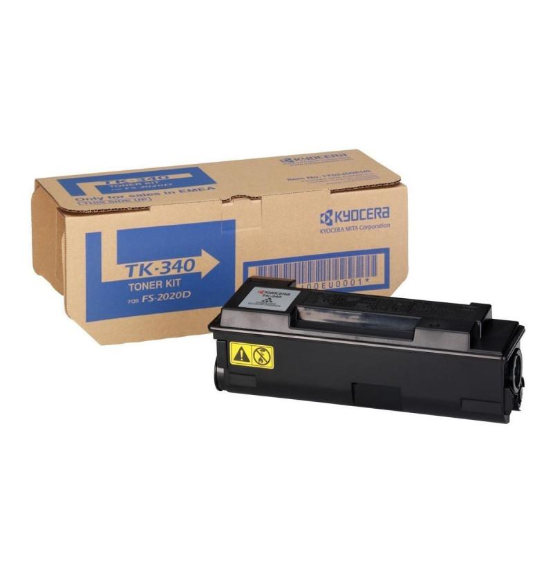 Kyocera TK 340 - Preto - original - cartucho de toner - para FS-2020D, 2020D/KL3, 2020DN, 2020DN/KL3