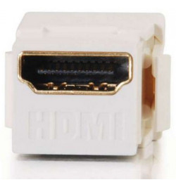 C2G Snap-In HDMI Keystone Insert Module - Implantaçăo modular - HDMI - branco