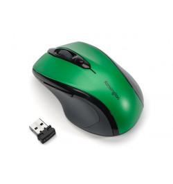 Kensington Pro Fit Mid-Size - Rato - óptico - sem fios - 2.4 GHz - receptor sem fio USB - Verde Esmeralda