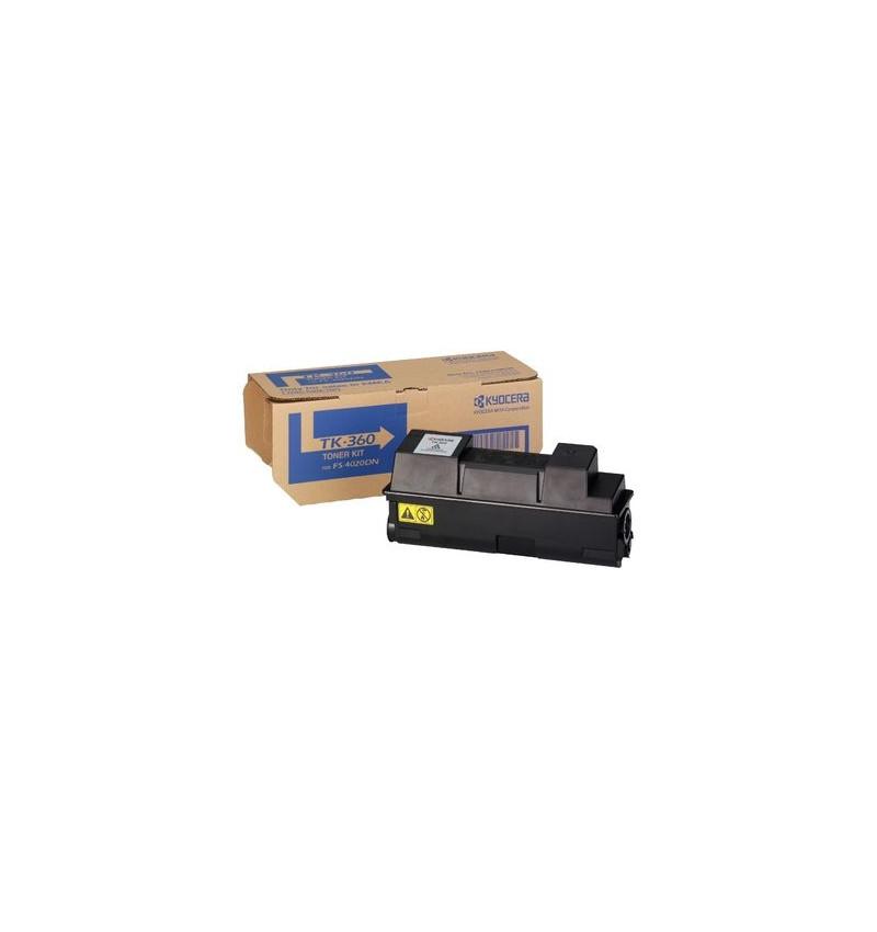 Kyocera TK 360 - Preto - original - cartucho de toner - para FS-4020DN, 4020DN/KL3