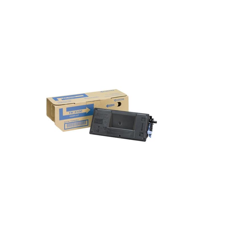Kyocera TK 3100 - Preto - original - cartucho de toner - para ECOSYS M3040, M3540, FS-2100, 4200