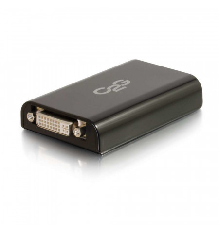 Adaptador Vídeo C2G SuperSpeed USB 3.0 / DVI Preto