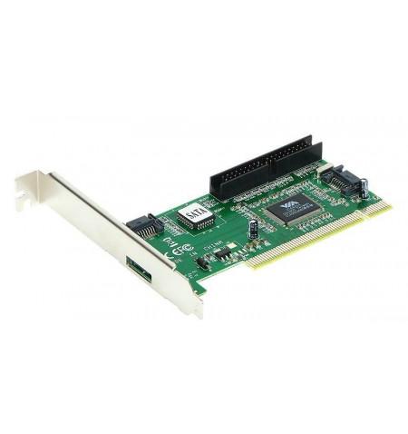 Placa PCI SATA 2xint. + 1 IDE/1 Sata Ext.