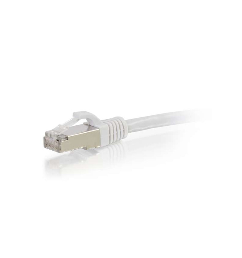 C2G Cat6a Booted Shielded (SSTP) Network Patch Cable - Cabo patch - RJ-45 (M) - RJ-45 (M) - 1.5 m - par trançado blindado revest