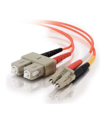 Cabo Fibra Optica C2G LC multi-modo (M) / SC multi-modos (M) 30m - 85491