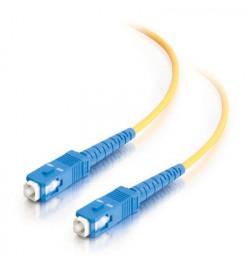 C2G SC-SC 9/125 OS1 Duplex Singlemode PVC Fiber Optic Cable (LSZH) - Cabo patch - SC modo único (M) - SC modo único (M) - 7 m -