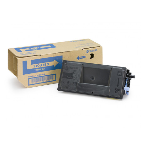 Toner Original Kyocera TK 3150 Preto - 1T02NX0NL0
