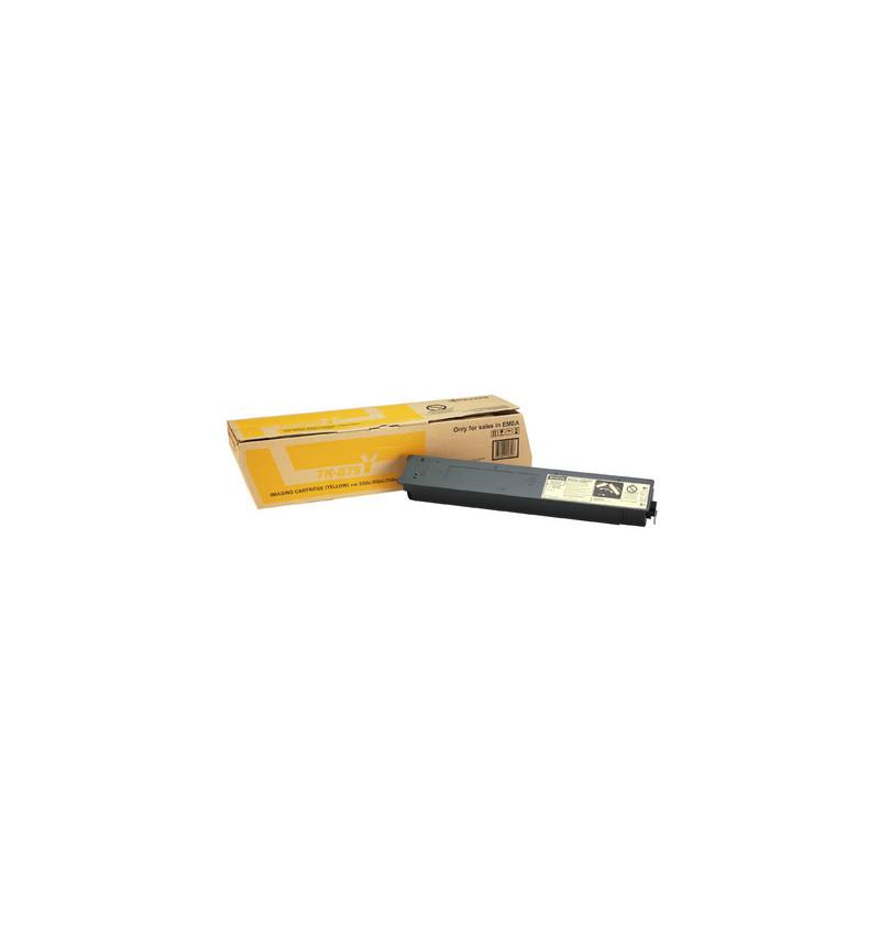 Kyocera TK 875Y - Amarelo - kit de toner - para TASKalfa 550c, 650c, 750c