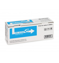 Kyocera TK 5150C - Azul cyan - kit de toner - para ECOSYS M6035cidn, M6035cidn/KL3, M6535cidn, M6535cidn/KL3, P6035cdn, P6035cdn